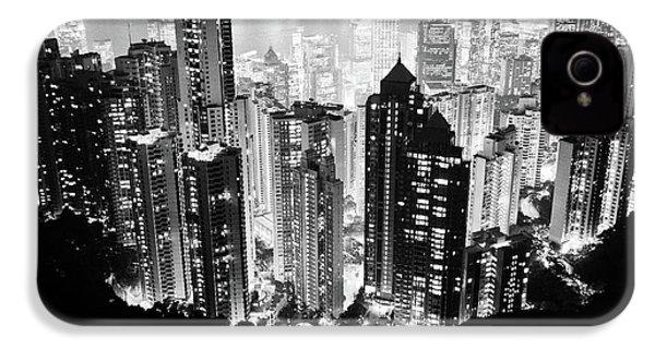 Hong Kong Nightscape IPhone 4 / 4s Case by Joseph Westrupp