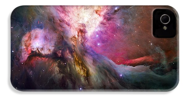 Hubble's Sharpest View Of The Orion Nebula IPhone 4 / 4s Case by Adam Romanowicz
