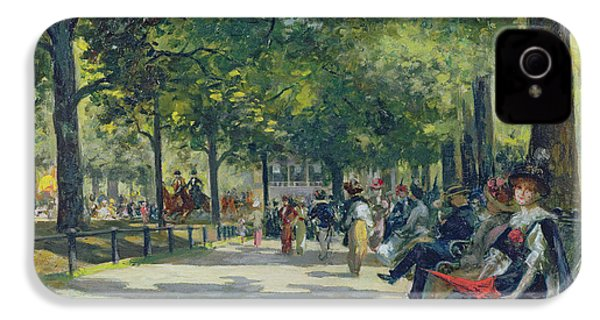 Hyde Park - London  IPhone 4 / 4s Case by Count Girolamo Pieri Nerli