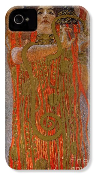 Hygieia IPhone 4 / 4s Case by Gustav Klimt
