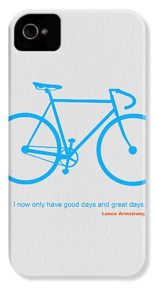 I Have Only Good Days And Great Days IPhone 4 / 4s Case by Naxart Studio