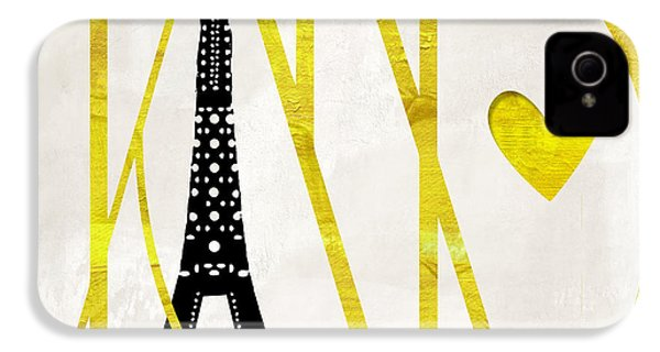 I Love Paris IPhone 4 / 4s Case by Mindy Sommers
