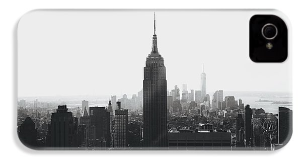 I'll Take Manhattan  IPhone 4 / 4s Case by J Montrice