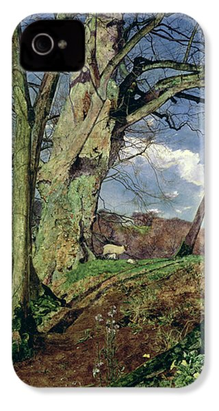 In Early Spring IPhone 4 / 4s Case by John William Inchbold