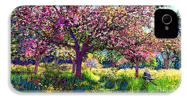 In Love With Spring, Blossom Trees IPhone 4 / 4s Case by Jane Small