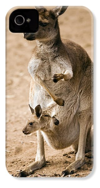 In  Mother's Care IPhone 4 / 4s Case by Mike  Dawson