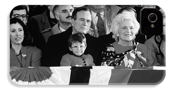 Inauguration Of George Bush Sr IPhone 4 / 4s Case by H. Armstrong Roberts/ClassicStock