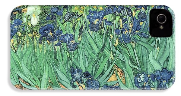 Irises IPhone 4 / 4s Case by Vincent Van Gogh