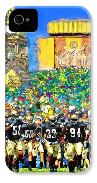 Irish Run To Victory IPhone 4 / 4s Case by John Farr