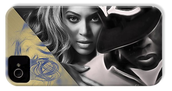 Jay Z Beyonce Collection IPhone 4 / 4s Case by Marvin Blaine