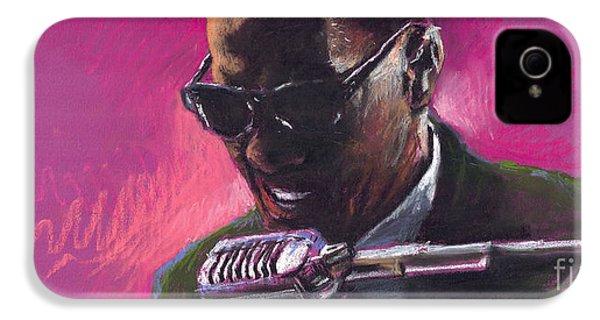 Jazz. Ray Charles.1. IPhone 4 / 4s Case by Yuriy  Shevchuk