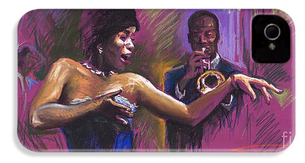 Jazz Song.2. IPhone 4 / 4s Case by Yuriy  Shevchuk