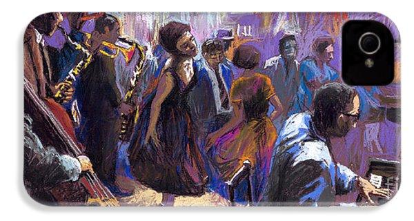 Jazz IPhone 4 / 4s Case by Yuriy  Shevchuk