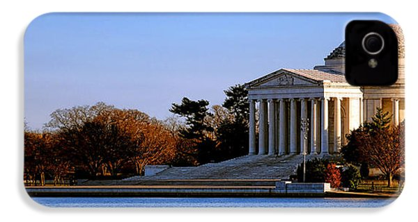 Jefferson Memorial Sunset IPhone 4 / 4s Case by Olivier Le Queinec