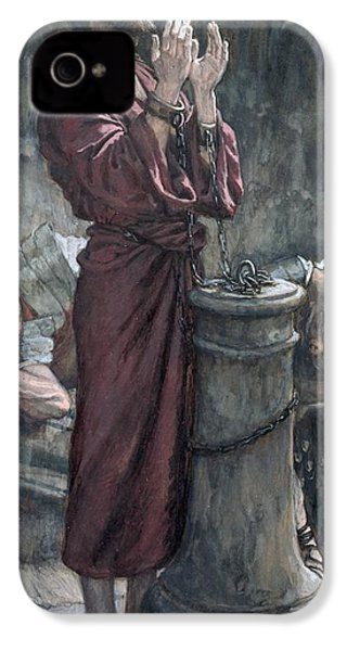 Jesus In Prison IPhone 4 / 4s Case by Tissot