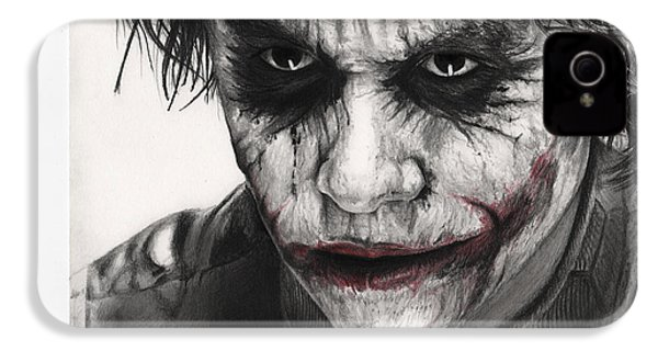 Joker Face IPhone 4 / 4s Case by James Holko