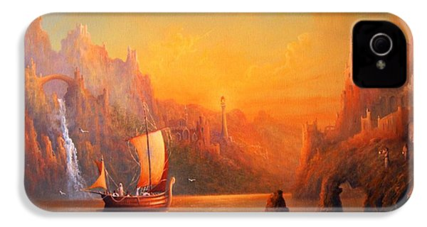 Journey To The Undying Lands IPhone 4 / 4s Case by Joe  Gilronan