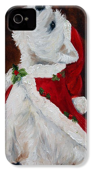 Joy To The World IPhone 4 / 4s Case by Mary Sparrow