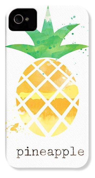 Juicy Pineapple IPhone 4 / 4s Case by Linda Woods