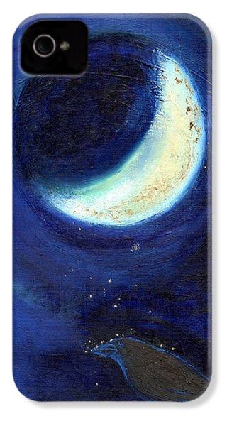 July Moon IPhone 4 / 4s Case by Nancy Moniz