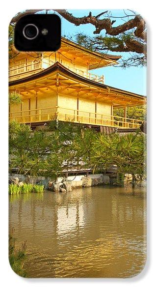 Kinkakuji Golden Pavilion Kyoto IPhone 4 / 4s Case by Sebastian Musial