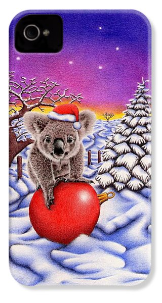 Koala On Ball IPhone 4 / 4s Case by Remrov