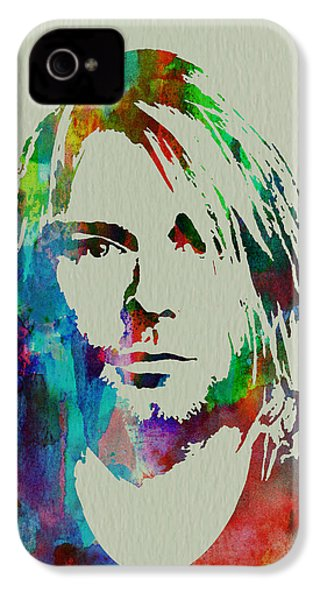 Kurt Cobain Nirvana IPhone 4 / 4s Case by Naxart Studio