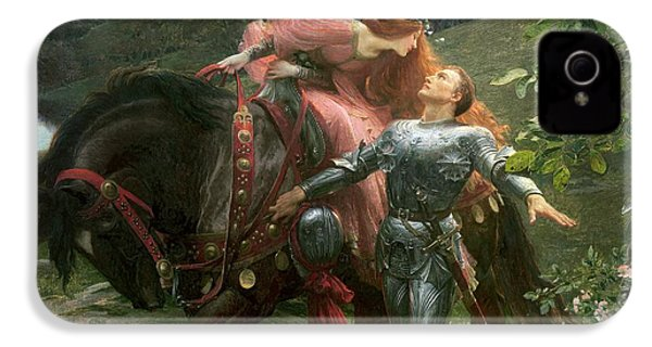 La Belle Dame Sans Merci IPhone 4 / 4s Case by Sir Frank Dicksee