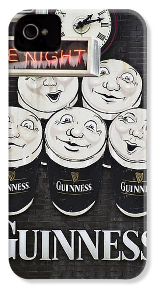Late Night Guinness Limerick Ireland IPhone 4 / 4s Case by Teresa Mucha