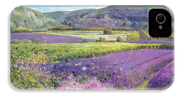 Lavender Fields In Old Provence IPhone 4 / 4s Case by Timothy Easton