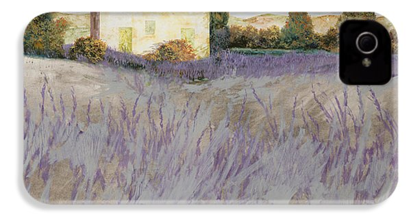 Lavender IPhone 4 / 4s Case by Guido Borelli