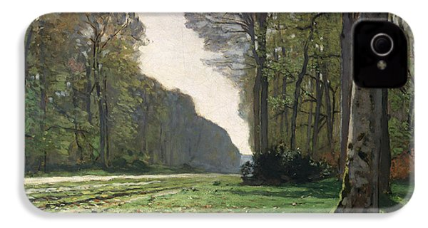 Le Pave De Chailly IPhone 4 / 4s Case by Claude Monet
