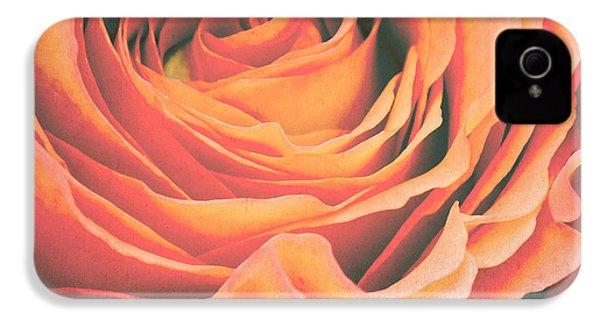 Le Petale De Rose IPhone 4 / 4s Case by Angela Doelling AD DESIGN Photo and PhotoArt