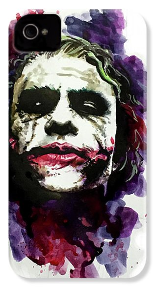 Ledgerjoker IPhone 4 / 4s Case by Ken Meyer jr