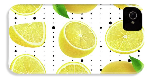 Lemon  IPhone 4 / 4s Case by Mark Ashkenazi
