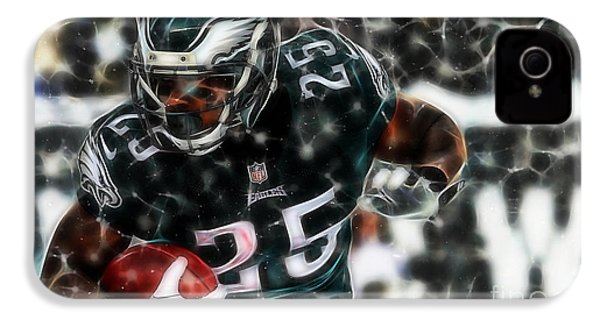 Lesean Mccoy Collection IPhone 4 / 4s Case by Marvin Blaine