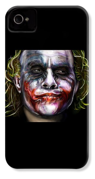 Let's Put A Smile On That Face IPhone 4 / 4s Case by Vinny John Usuriello