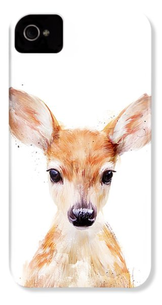 Little Deer IPhone 4 / 4s Case by Amy Hamilton