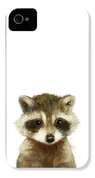 Little Raccoon IPhone 4 / 4s Case by Amy Hamilton