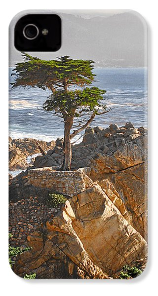 Lone Cypress - The Icon Of Pebble Beach California IPhone 4 / 4s Case by Christine Till