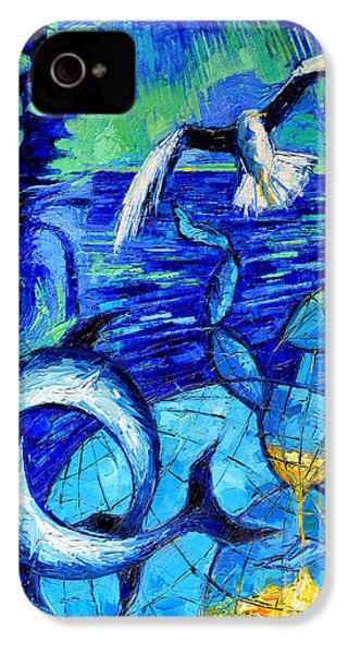 Majestic Bleu IPhone 4 / 4s Case by Mona Edulesco