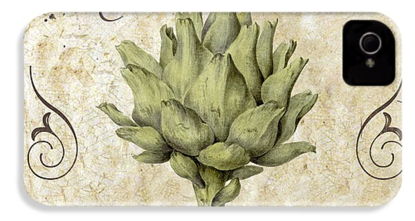 Mangia Carciofo Artichoke IPhone 4 / 4s Case by Mindy Sommers