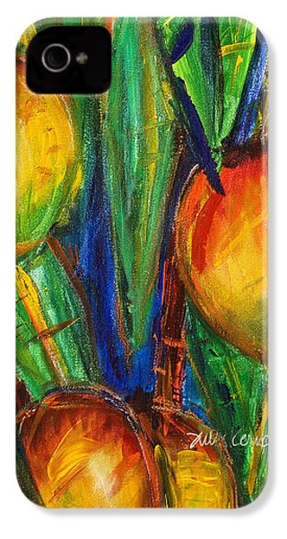 Mango Tree IPhone 4 / 4s Case by Julie Kerns Schaper - Printscapes