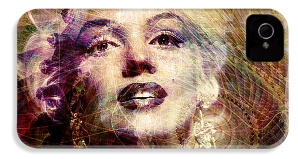 Marilyn IPhone 4 / 4s Case by Barbara Berney