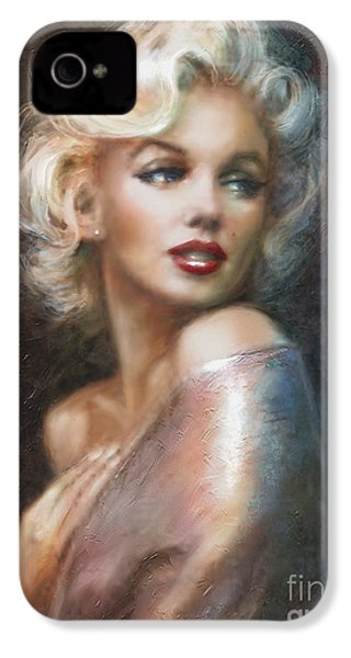 Marilyn Ww Soft IPhone 4 / 4s Case by Theo Danella