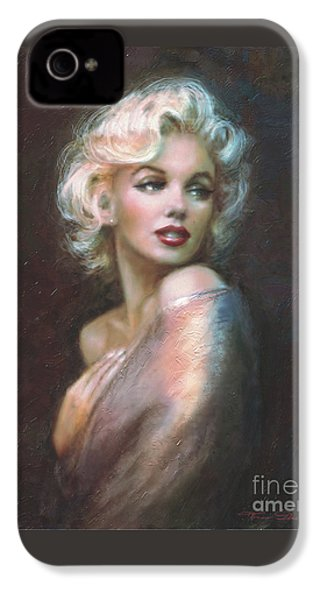 Marilyn Ww  IPhone 4 / 4s Case by Theo Danella