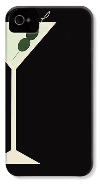 Martini IPhone 4 / 4s Case by Julia Garcia
