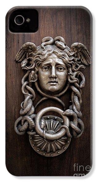 Medusa Head Door Knocker IPhone 4 / 4s Case by Edward Fielding
