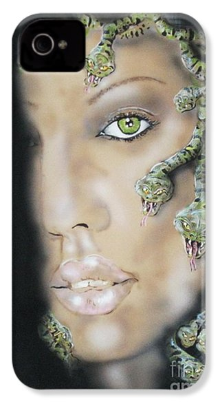 Medusa IPhone 4 / 4s Case by John Sodja