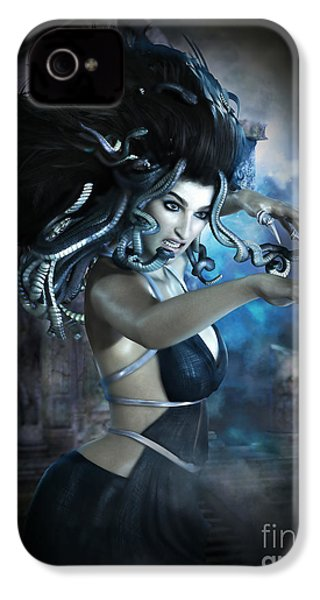 Medusa IPhone 4 / 4s Case by Shanina Conway